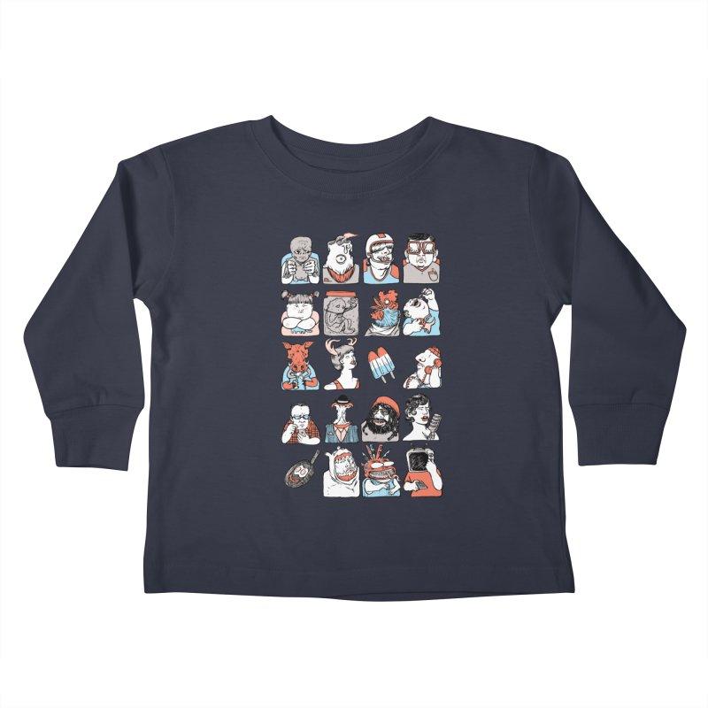 Group photo Kids Toddler Longsleeve T-Shirt by zonka's Artist Shop