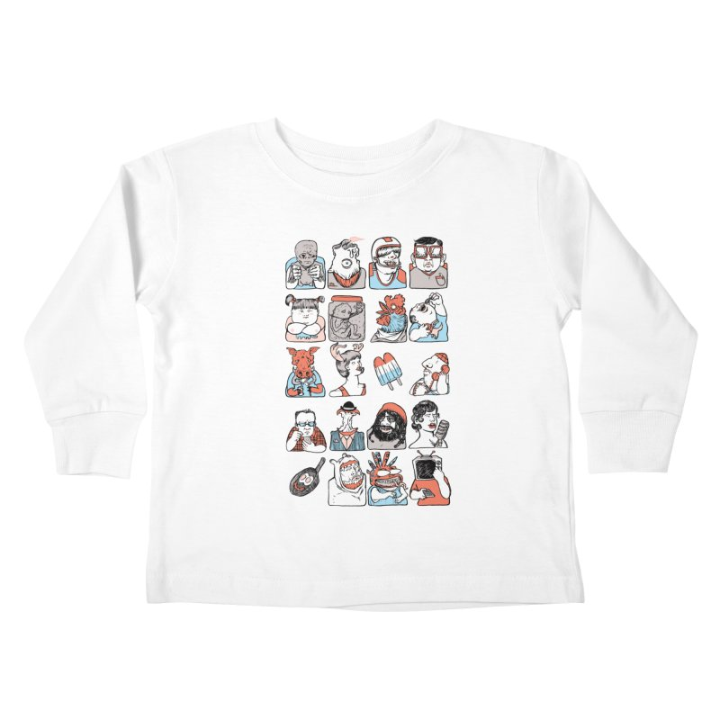 Group photo Kids Toddler Longsleeve T-Shirt by zonka's Artist Shop