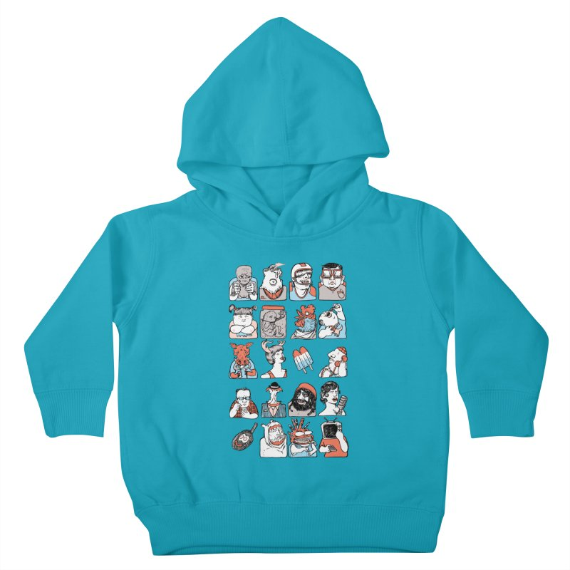 Group photo Kids Toddler Pullover Hoody by zonka's Artist Shop