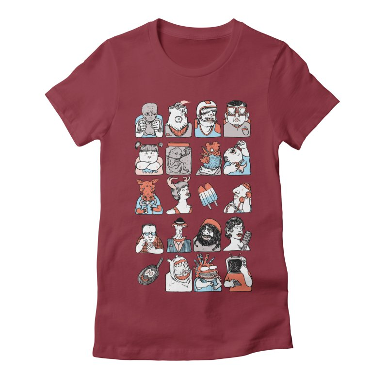 Group photo Women's T-Shirt by Aaron Zonka's Artist Shop