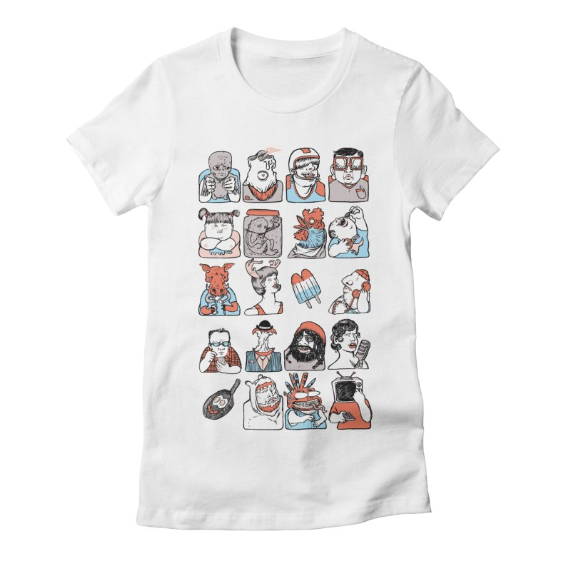 Group photo Women's T-Shirt by Aaron Zonka's Artist Shop