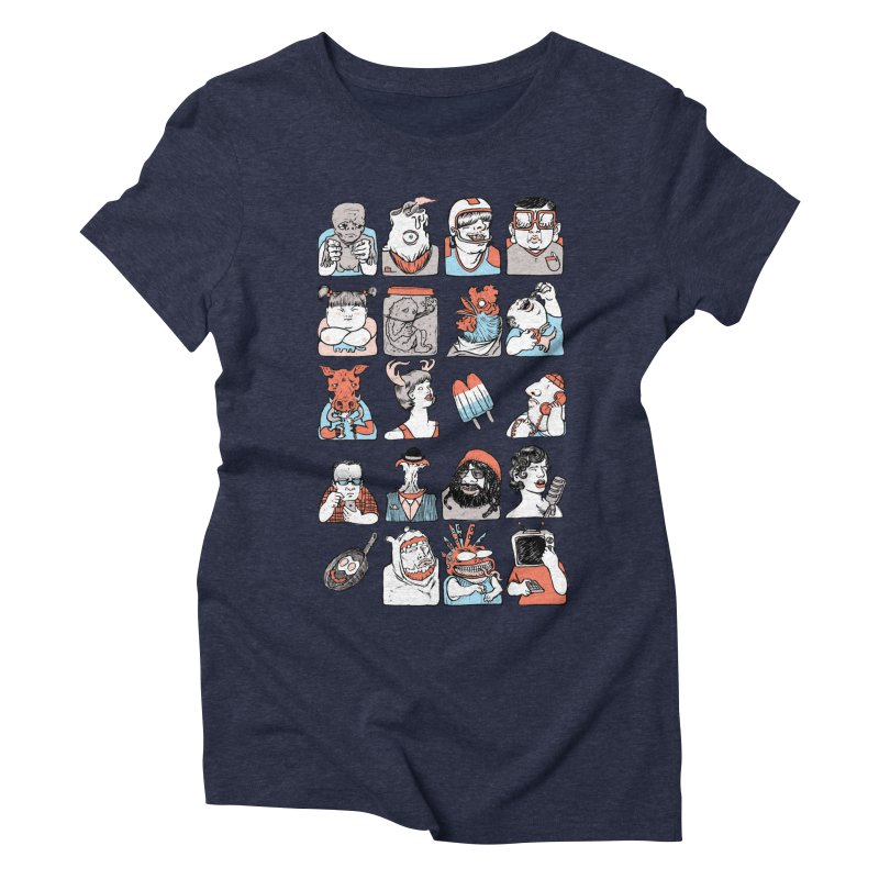 Group photo Women's Triblend T-Shirt by zonka's Artist Shop