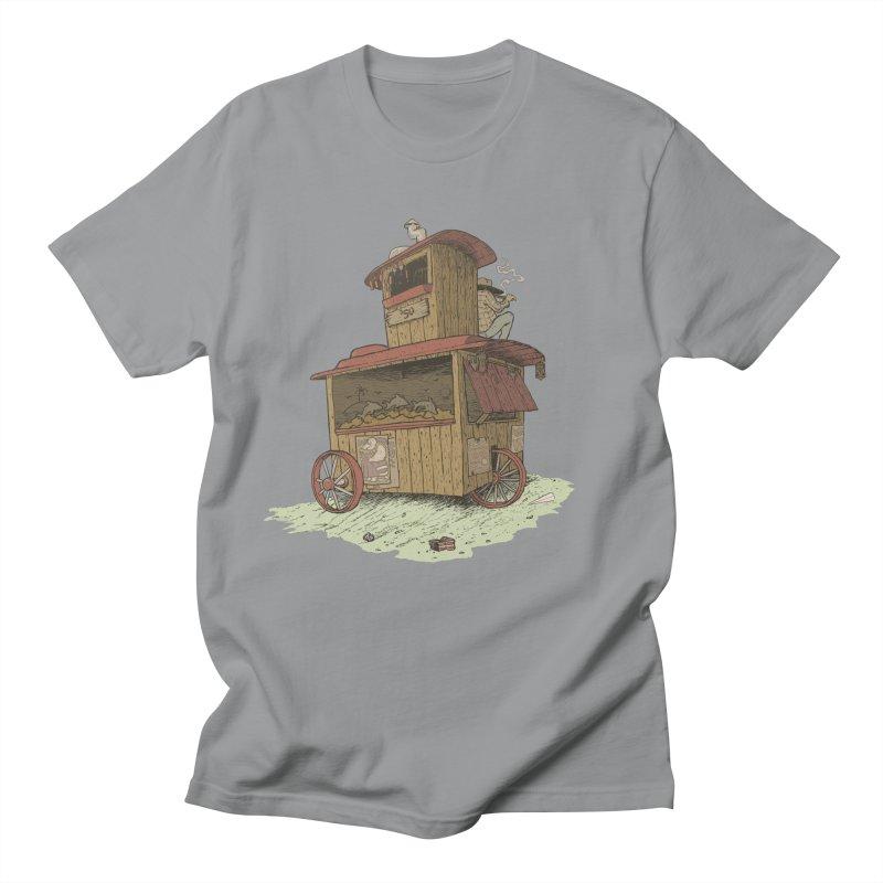 wagon Men's T-Shirt by Aaron Zonka's Artist Shop