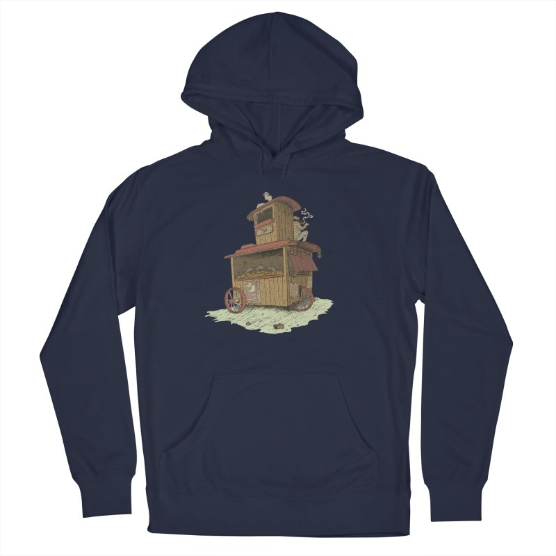 wagon Men's Pullover Hoody by zonka's Artist Shop