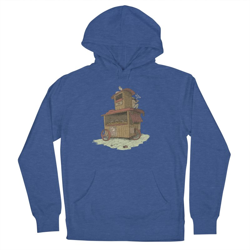wagon Women's French Terry Pullover Hoody by zonka's Artist Shop