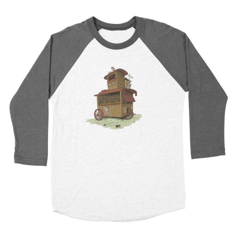 wagon Men's Baseball Triblend Longsleeve T-Shirt by zonka's Artist Shop