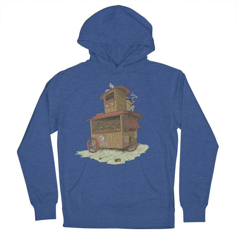wagon Men's Pullover Hoody by zonka's Artist Shop