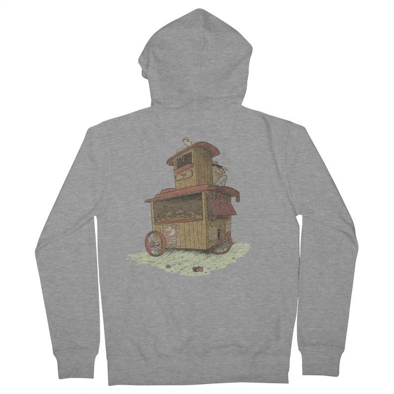 wagon Men's Zip-Up Hoody by zonka's Artist Shop