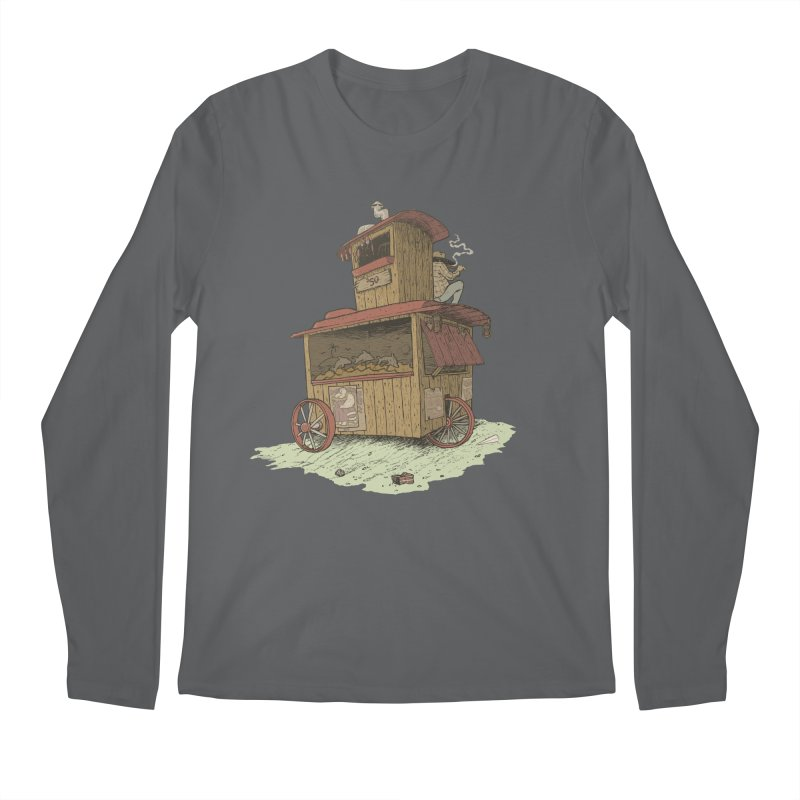 wagon Men's Longsleeve T-Shirt by zonka's Artist Shop
