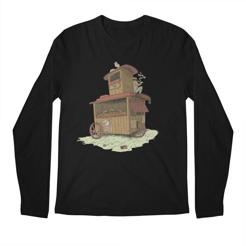wagon Men's Longsleeve T-Shirt by zonka's Artist Shop