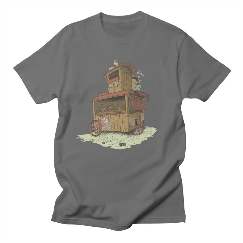 wagon Men's T-Shirt by Aaron Zonka's Artist Shop
