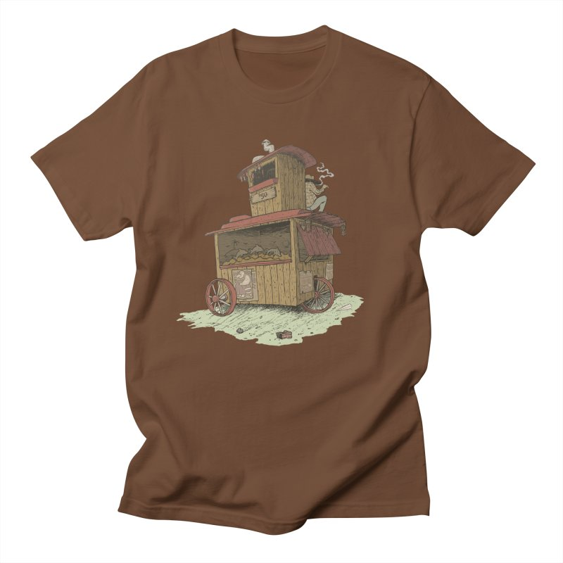 wagon Men's Regular T-Shirt by zonka's Artist Shop
