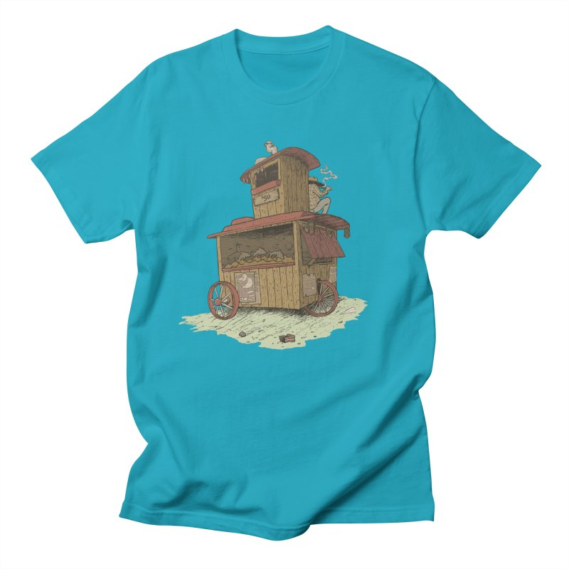 wagon Women's Unisex T-Shirt by zonka's Artist Shop
