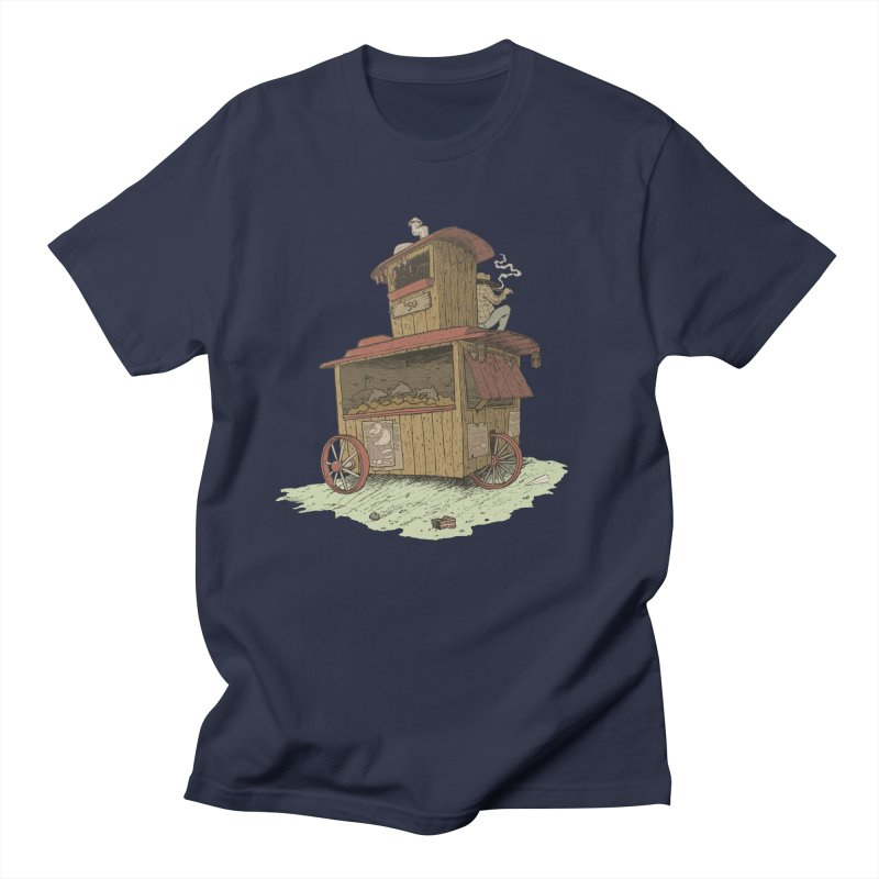 wagon Women's Unisex T-Shirt by zonka's Artist Shop