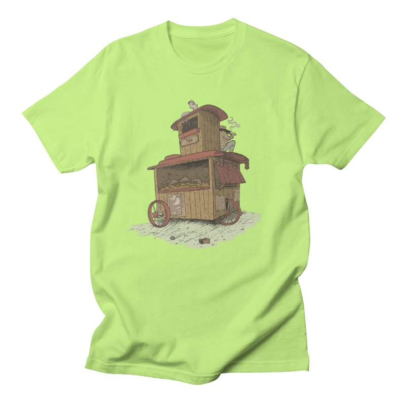 wagon Men's T-shirt by zonka's Artist Shop
