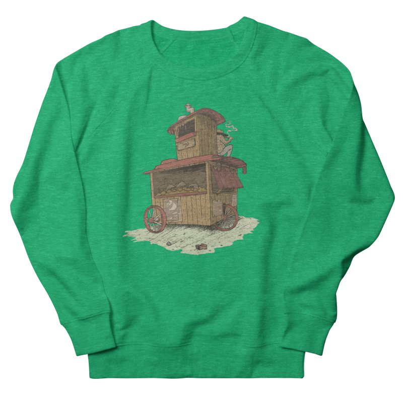 wagon Women's Sweatshirt by Aaron Zonka's Artist Shop