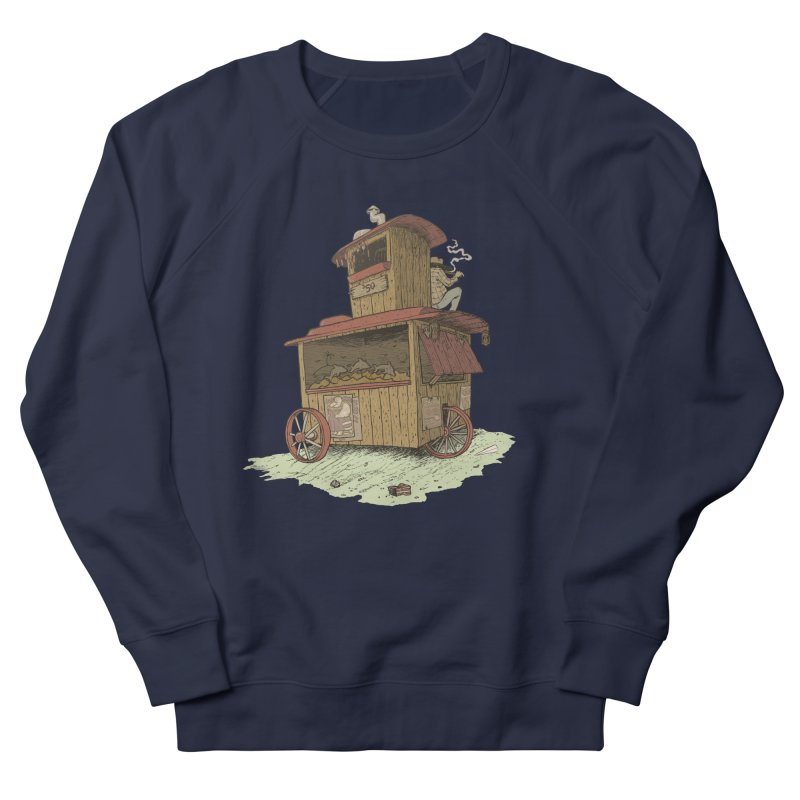 wagon Men's Sweatshirt by zonka's Artist Shop
