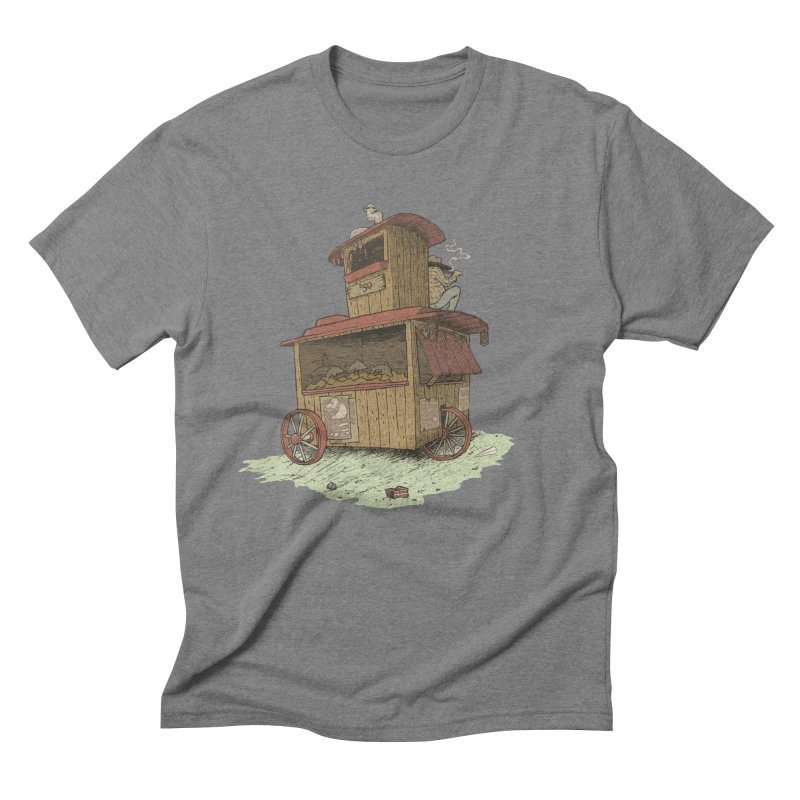 wagon Men's Triblend T-Shirt by zonka's Artist Shop