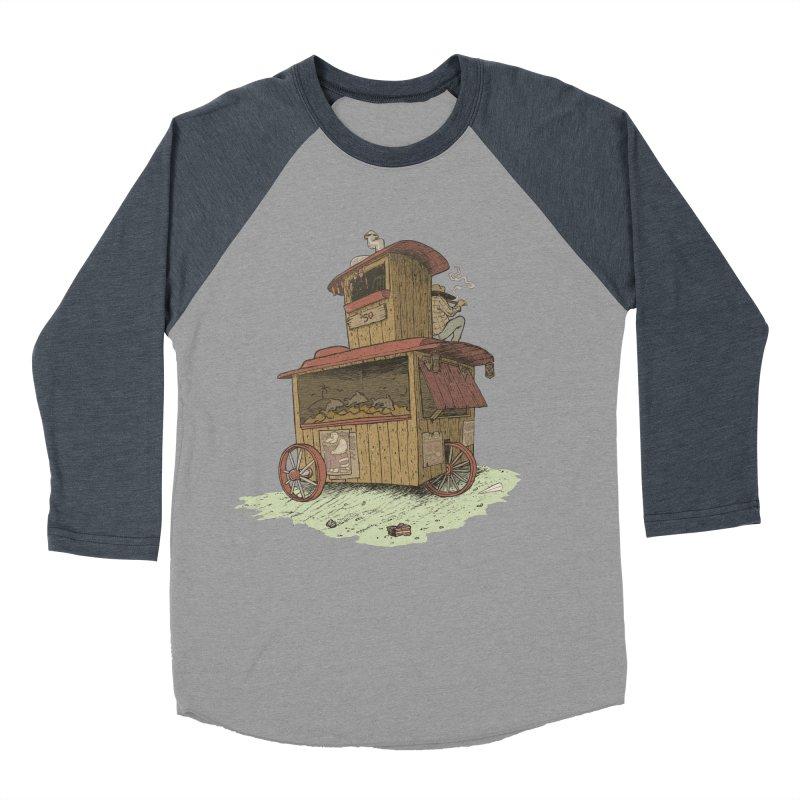 wagon Men's Baseball Triblend T-Shirt by zonka's Artist Shop