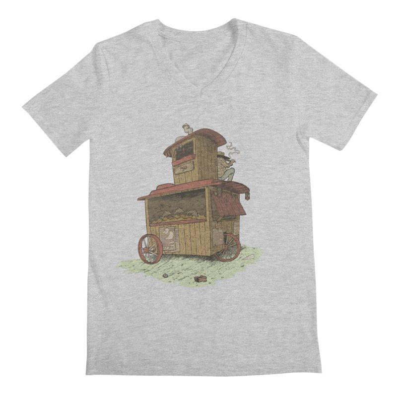 wagon Men's V-Neck by zonka's Artist Shop