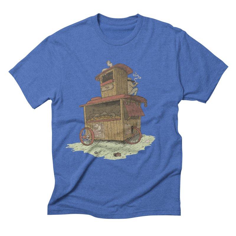 wagon Men's Triblend T-shirt by zonka's Artist Shop
