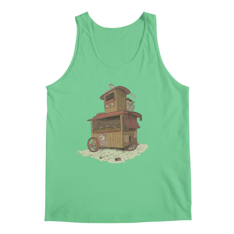 wagon Men's Tank by Aaron Zonka's Artist Shop