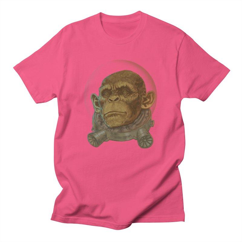 Space ape Men's T-Shirt by Aaron Zonka's Artist Shop