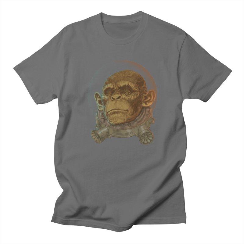 Space ape Men's T-Shirt by zonka's Artist Shop