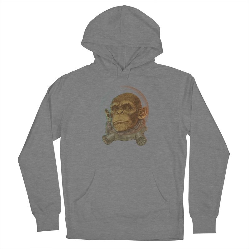 Space ape Men's French Terry Pullover Hoody by zonka's Artist Shop