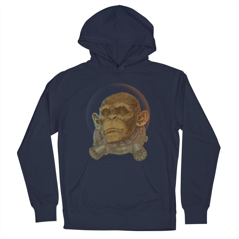 Space ape Women's French Terry Pullover Hoody by zonka's Artist Shop