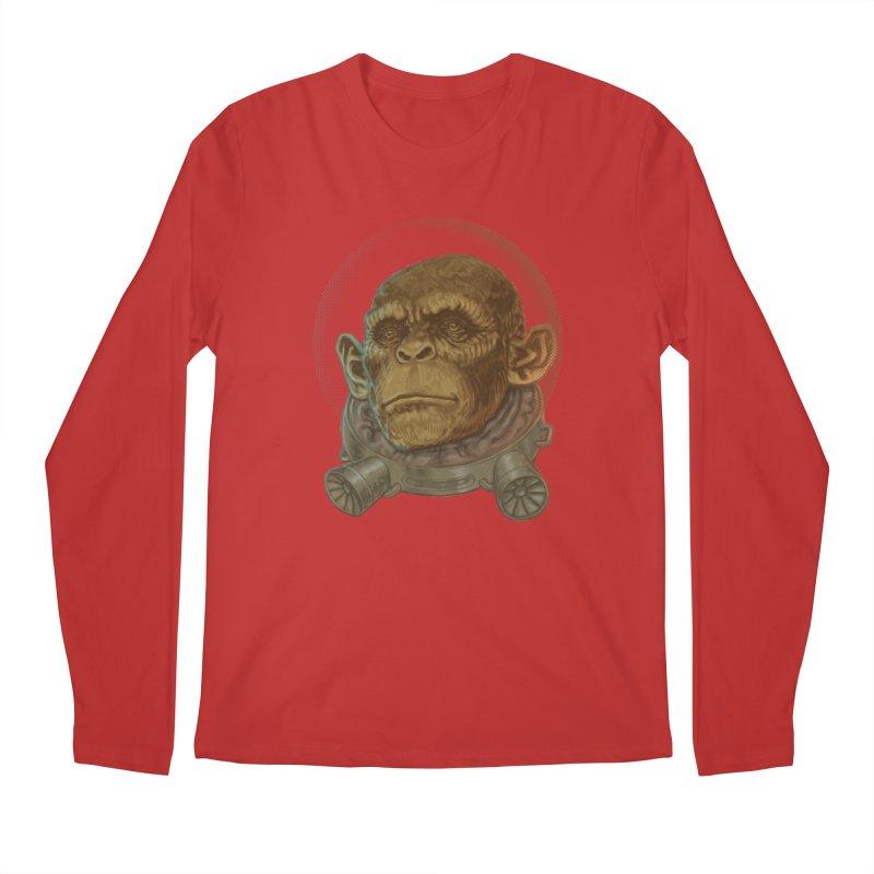Space ape Men's Longsleeve T-Shirt by zonka's Artist Shop