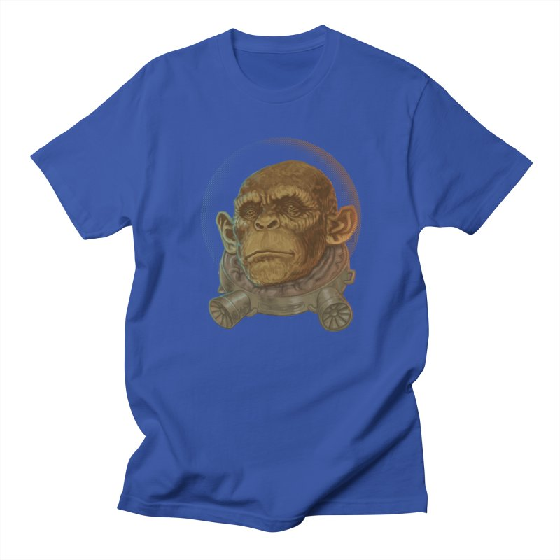 Space ape Men's T-shirt by zonka's Artist Shop