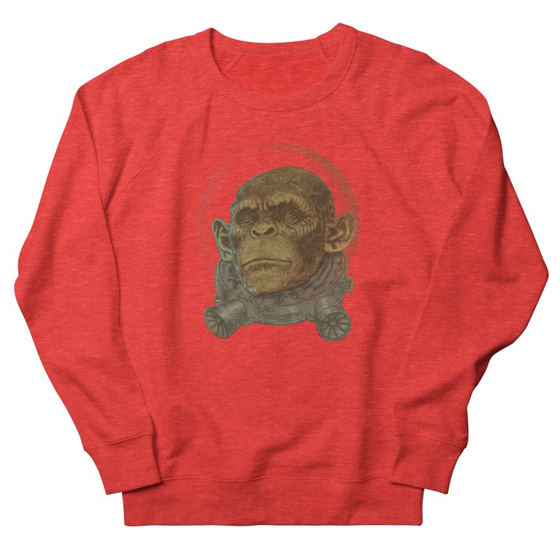 Space ape Women's Sweatshirt by Aaron Zonka's Artist Shop