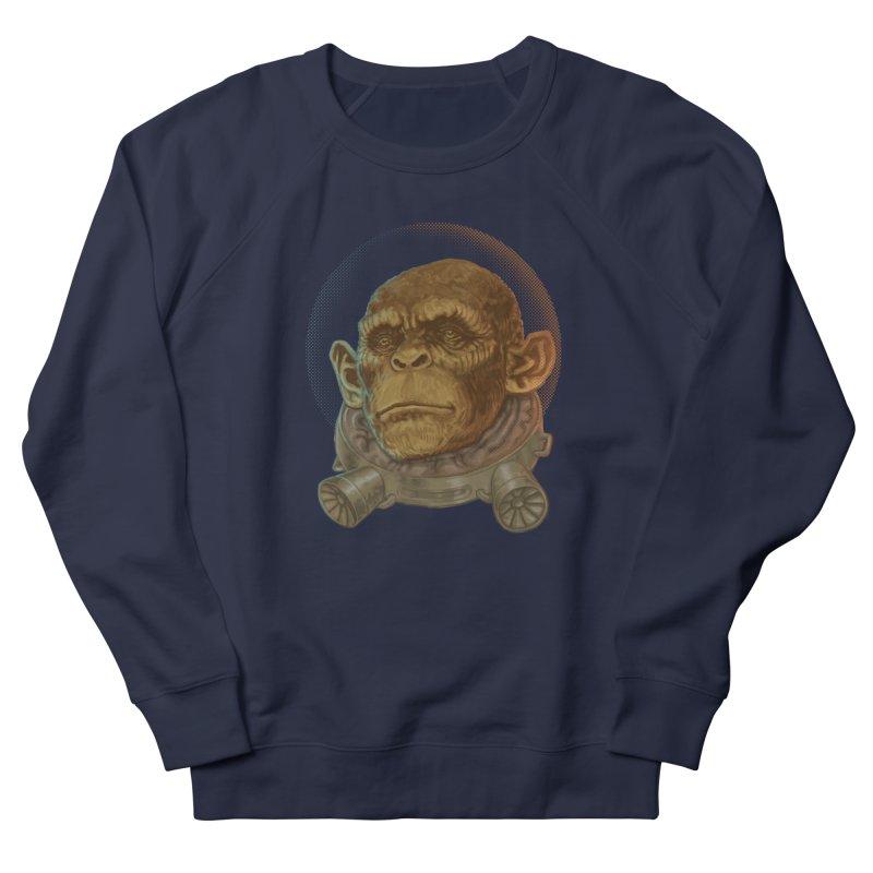Space ape Women's Sweatshirt by zonka's Artist Shop