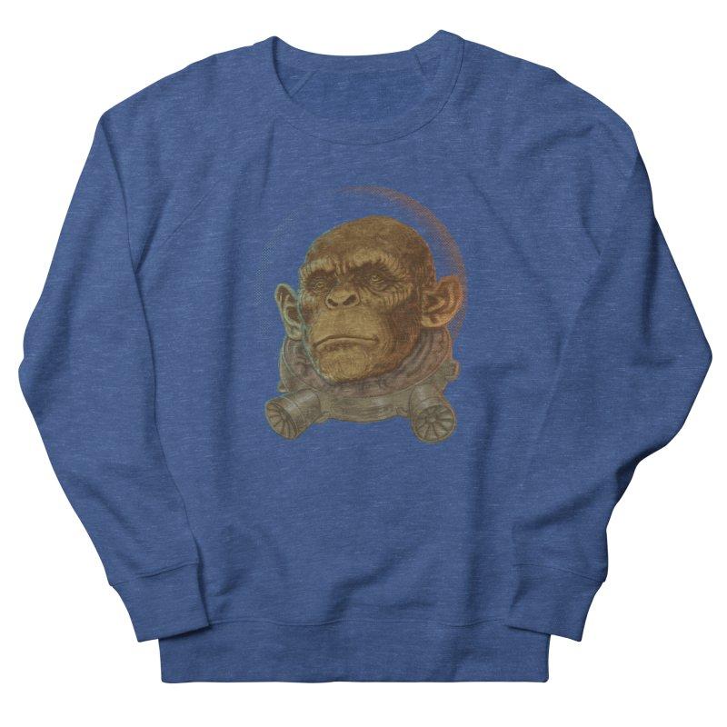Space ape Men's French Terry Sweatshirt by zonka's Artist Shop
