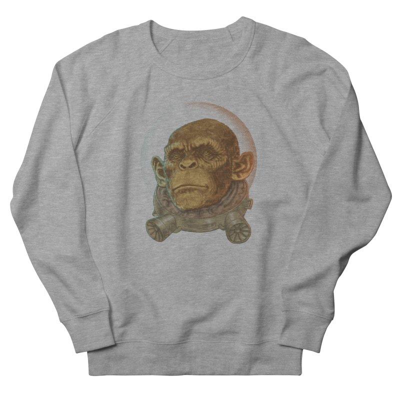 Space ape Men's Sweatshirt by zonka's Artist Shop
