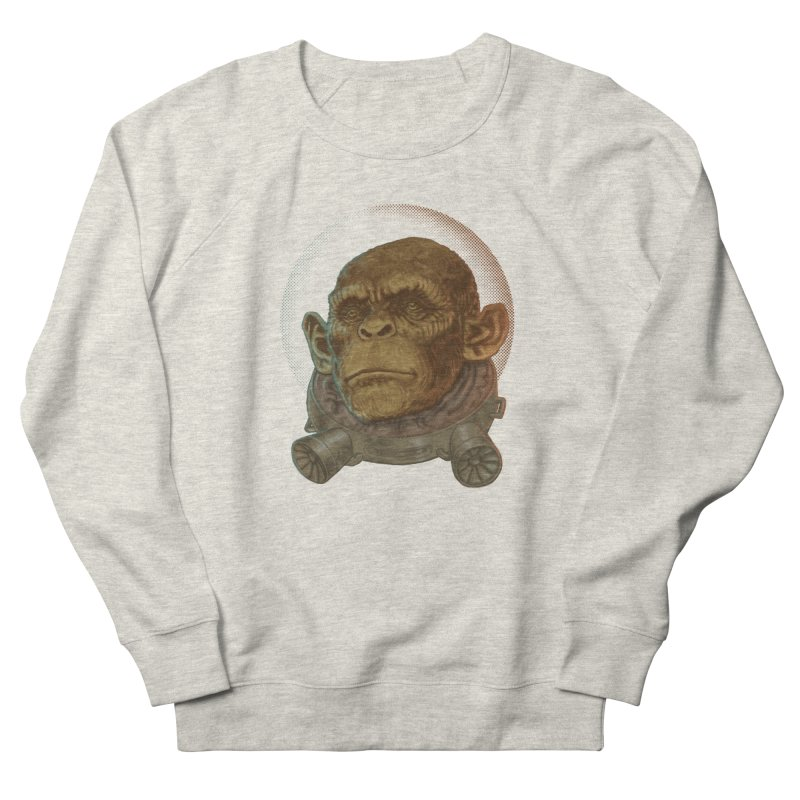 Space ape Men's Sweatshirt by zonka's Artist Shop