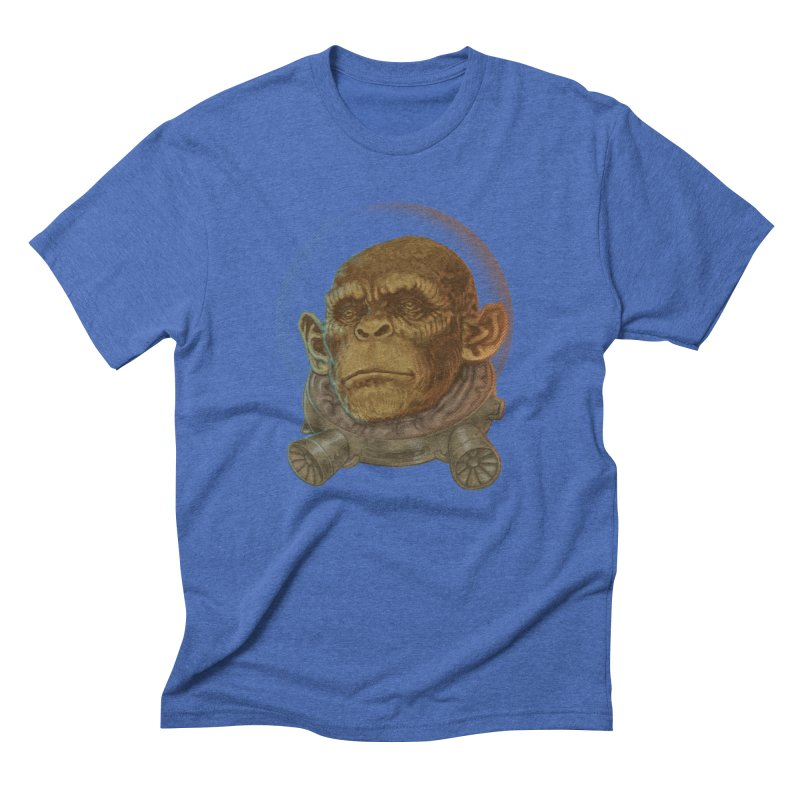 Space ape Men's Triblend T-Shirt by zonka's Artist Shop