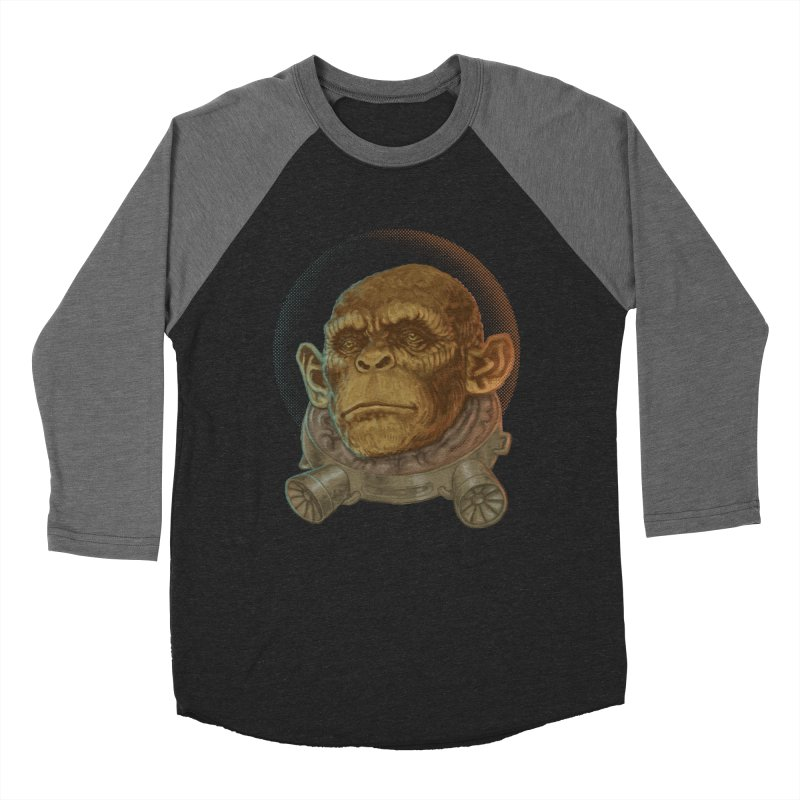 Space ape Women's Baseball Triblend T-Shirt by zonka's Artist Shop