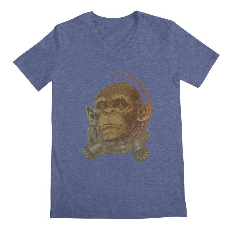 Space ape Men's V-Neck by zonka's Artist Shop