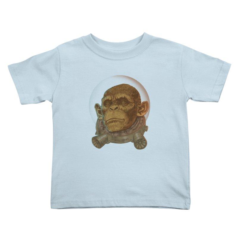 Space ape Kids Toddler T-Shirt by zonka's Artist Shop