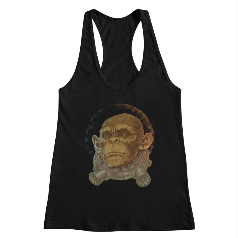 Space ape Women's Tank by Aaron Zonka's Artist Shop