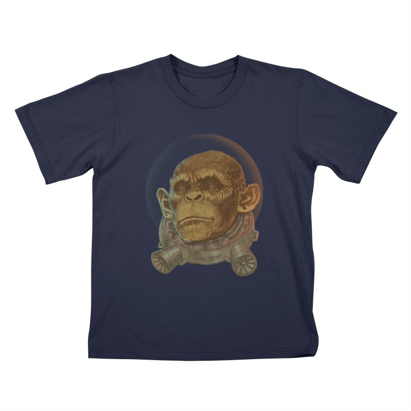 Space ape Kids T-Shirt by Aaron Zonka's Artist Shop