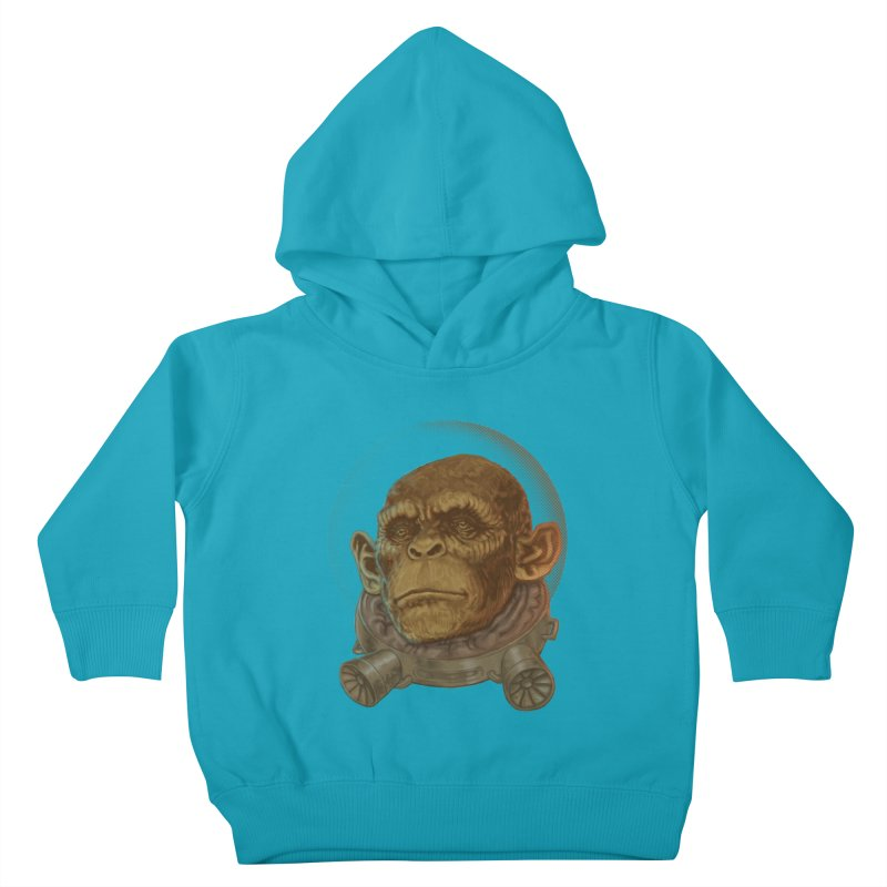 Space ape Kids Toddler Pullover Hoody by zonka's Artist Shop