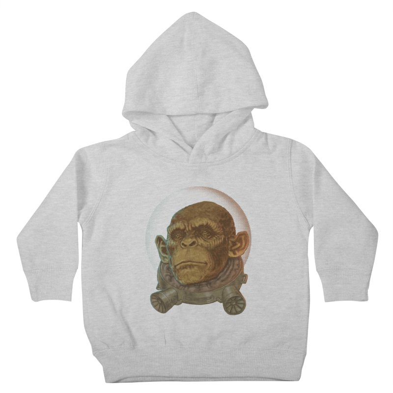 Space ape Kids Toddler Pullover Hoody by Aaron Zonka's Artist Shop
