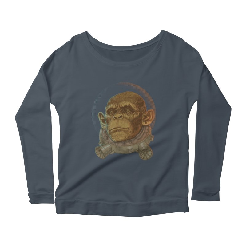 Space ape Women's Longsleeve T-Shirt by Aaron Zonka's Artist Shop