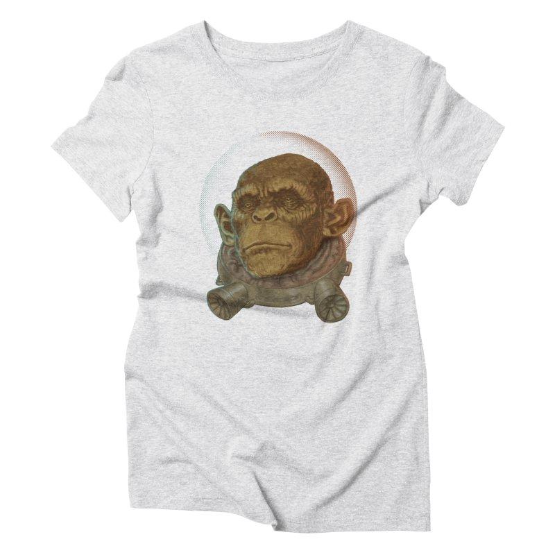 Space ape Women's T-Shirt by Aaron Zonka's Artist Shop