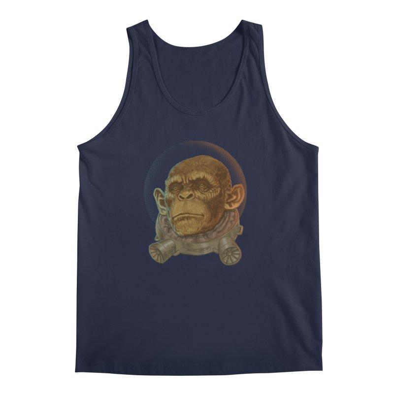 Space ape Men's Tank by zonka's Artist Shop