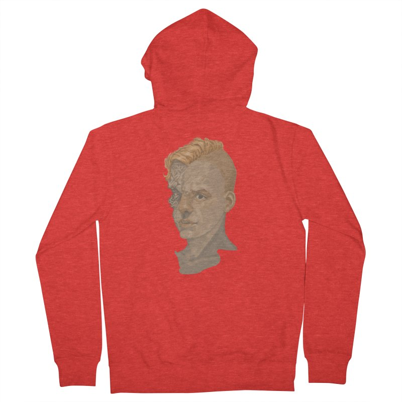 Car Face Women's Zip-Up Hoody by Aaron Zonka's Artist Shop