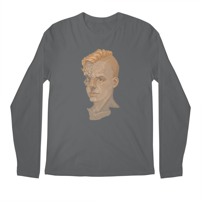 Car Face Men's Longsleeve T-Shirt by Aaron Zonka's Artist Shop